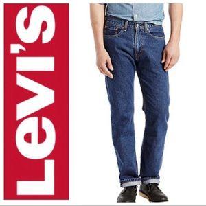 BRAND NEW Levi's Men's 505 Regular Fit Jeans 33x29